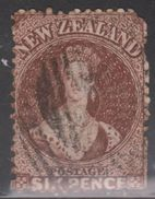 NEW ZEALAND Scott # 36a Used - Poor Condition Space Filler - 1855-1907 Crown Colony