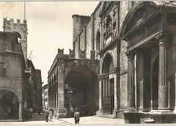 ASCOLI PICENO CHIESA MONUMENTALE DI S.FRANCESCO E LOGGIA DEI MERCANTI -FG - Ascoli Piceno