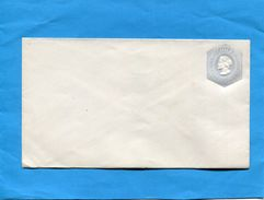 CHILI- Enveloppe Entier Postal-postal-stationnery-10c Gris Colomb  Papier Blanc  Rayé -  Années 1890 - Chile