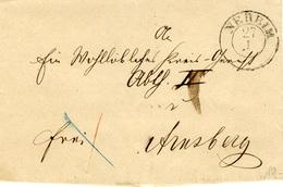 (Lo67) Altdeutschland Brief Bayern St. Neheim N. Arnsberg - Germany