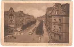 Düsseldorf - Graf Adolf Strasse - 1923 - Feldpost / België Legerposterij / Postes Militaires Belgique - Tramway /tram - Duesseldorf
