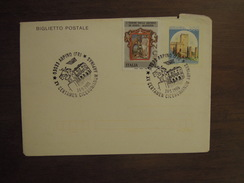 BIGLIETTO POSTALE   ITALIA 750 Su ITALIA 300   -  ARPINO 14. 5. 1995 - 6. 1946-.. República