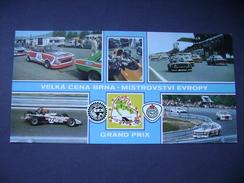 Czechoslovakia VELKA CENA BRNO GRAND PRIX European Championship ÚAMK F.I.A. - Racing Cars 1980s - Motorsport