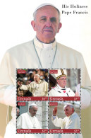 GRENADA 2014 ** Pope Francis Papst Franziskus M/S - OFFICIAL ISSUE - DH9999 - Päpste