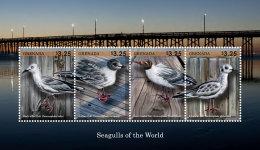GRENADA 2014 ** Seagulls Möwen M/S I - OFFICIAL ISSUE - DH9999 - Möwen