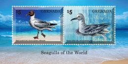 GRENADA 2014 ** Seagulls Möwen S/S II - OFFICIAL ISSUE - DH9999 - Möwen