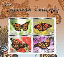 GUYANA 2014 ** Butterflies Schmetterlinge M/S - OFFICIAL ISSUE - DH9999 - Schmetterlinge