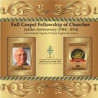 GUYANA 2014 ** Gospel Jubilee Full Gospel Fellowship Of Churches S/S - OFFICIAL ISSUE - DH9999 - Musik