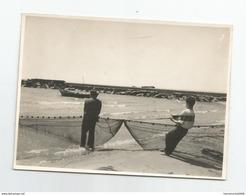 Photographie Gruissan Aude - 11 Peche A La Traine Pentecote 1938 Photo 8,4x11,4 Cm - Places