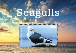 GUYANA 2015 ** Seagulls Möwen S/S - OFFICIAL ISSUE - DH9999 - Möwen