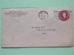 USA 1920 Stationery Cover Toledo To Toledo - Washington - Brieven En Documenten