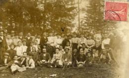 Carte-Photo Très Animée, Groupe De Personnes - Postée De MOREZ En 1907 - 2 Scans - Te Identificeren
