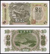 BANK OF KOREA 10 WON 1947 Pick 10Ab UNC - Corée Du Sud