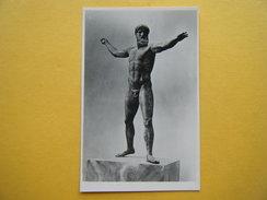 ATHENES. Le Musée Archéologique. La Statue De Zeus. - Grèce