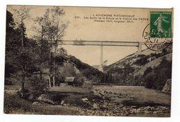 Cpa N° 3761 Les Bords De La Sioule Et Le Viaduc Des Fades - France