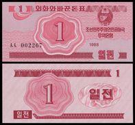 BANK OF KOREA 1 CHON 1988 Pick 31 UNC - Corée Du Sud