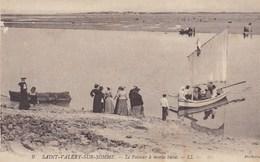 CPA Saint Valery Sur Somme, Le Passeur A Marée Basse (pk37775) - Saint Valery Sur Somme