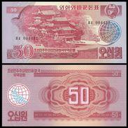 BANK OF KOREA 50 WON 1988 Pick 38 UNC - Corée Du Sud