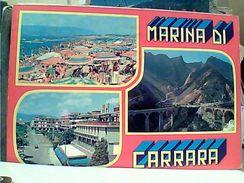 2 CARD MARINA DI CARRARA  VB1971/85 GG16027 - Carrara