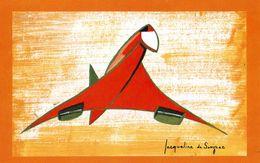"""AVIONS / AEROPORT   /  L 19 /   """"  LE CONCORDE   /     """"   CPM / CPSM  10 X 15 - 1946-....: Moderne"""