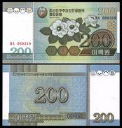 BANK OF KOREA 200 WON 2005 Pick 48 UNC - Corée Du Sud