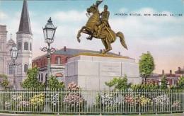 Louisiana New Orleans Jackson Statue