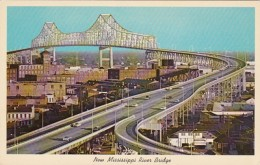 Louisiana New Orleans New Mississippi River Bridge