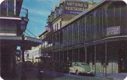 Louisiana New Orleans Antoine's Restaurant