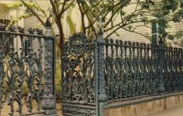 Louisiana New Orleans Cornstalk Fence 915 Royal Street