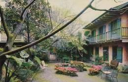Louisiana New Orleans Patio Of Maison De Ville Hotel 727 Toulous