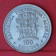 AZORES 100 ESCUDOS 1986 - KM# 45 - (Nº18626) - Açores
