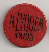 Miroir Publicitaire Rond, De Sac Ou De Courtoisie. M. Eyquem Paris - Other
