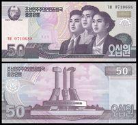 BANK OF KOREA 50 WON 2002 (2009) Pick 60 UNC - Corée Du Sud