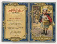 Calendrier Lefèvre-Utile LU 1914. Le Petit écolier - Small : 1901-20