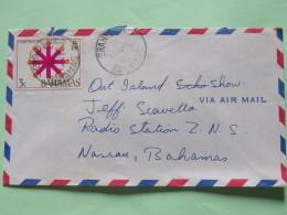 Bahamas 1972 Cover Grants Town To Nassau - Christmas - Snow Flake - Bahamas (1973-...)