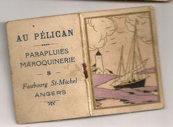 Calendrier Almanach 1933. Au Pélican, Parapluies Maroquineries 8 Faubourg Saint-Michel à Angers - Kalenders