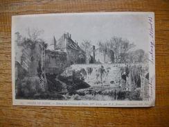 Carte Assez Rare De 1903 , Dijon , Musée De Dijon , Entrée Du Château De Dijon XVe Siècle - Dijon