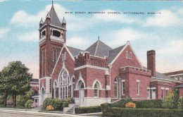 Mississippi Hattiesburg Main Street Methodist Church - Hattiesburg