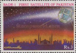 PAKISTAN MNH** STAMPS ,1990 Pakistan's First Experimental Space Satellite, BADR-1 - Pakistan