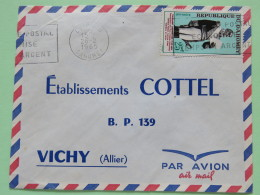 Dahomey (Benin) 1965 Cover Cotonou To Vichy France - Toussaint Louverture Haiti - Benin - Dahomey (1960-...)