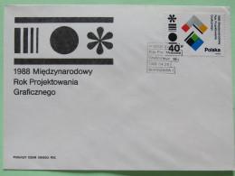 Poland 1988 FDC Cover - Graphic Arts - 1944-.... Republic