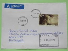 Norway 2013 Cover Tonsberg To Nicaragua - Painting By Edvard Munch - Noorwegen