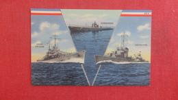 US -- Multi View-- Light Cruiser  Submarine Destroyer    Ref 2654 - Guerre