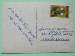 "Belgium 1977 Postcard """"Zeeland Holland"""" Blankenbergen To Borgerhout - Mercury - Belgium"