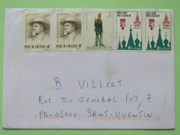 Belgium 1980 Cover Jette To France - Olympic Games Moscow - Uniform - Linguistic - Belgium