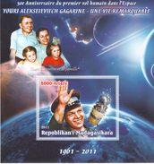 2011 Madagascar  50 Year Anniversity Of Gagarin Space Flight MS A - Africa