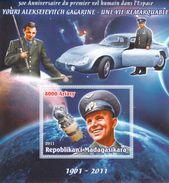 2011 Madagascar  50 Year Anniversity Of Gagarin Space Flight MS B - Africa