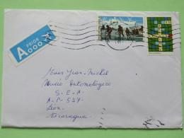 Belgium 2013 Cover Gent To Nicaragua - World War II - Soldiers - Ships - Crosswords - Belgium
