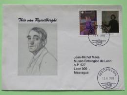 Belgium 2013 Cover Mechelen To Nicaragua - Theo Van Rysselberghe - Paintings - Belgium