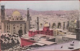 Egypte Egypt Ägypten Egipto Egitto View Of Cairo Mosque Madrassa Sultan Hassan Moskee Moschea Moschee Mosquée Mezquita - Cairo